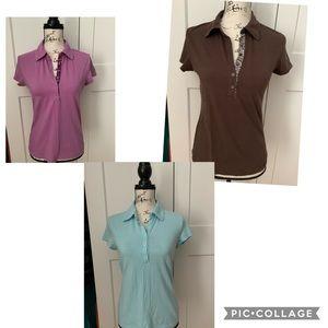 Ann Taylor Polo Shirt Bundle, Size M
